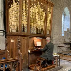 The Church Organ, originally installed in 1854.