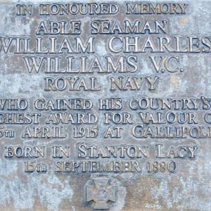 Memorial to AS William Charles Williams VC